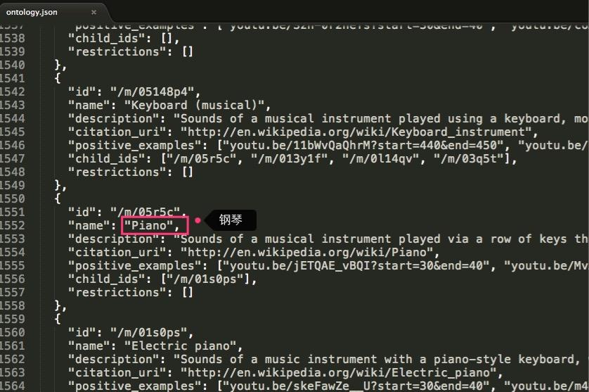 audioset的分类_文档说明